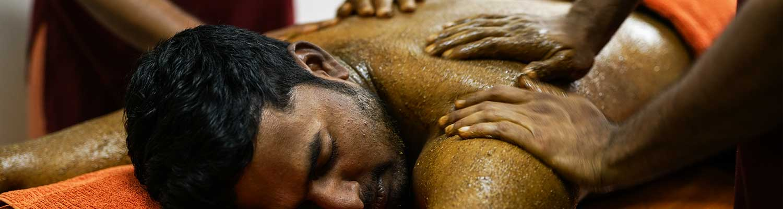 Baby powder massage erotic